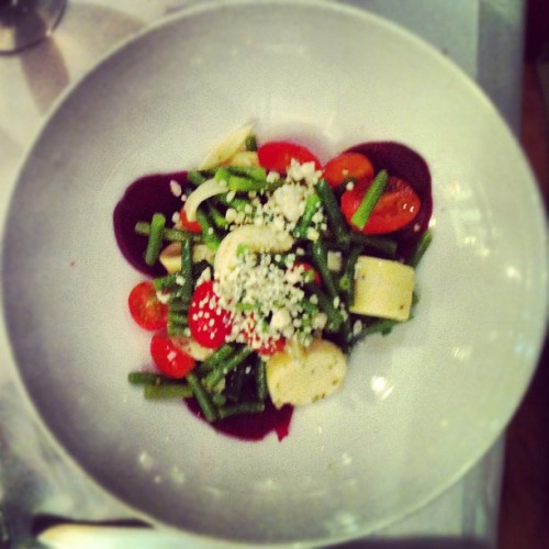 Palm salad. (Taken with Instagram at Circus Fine Brazilian Cuisine)