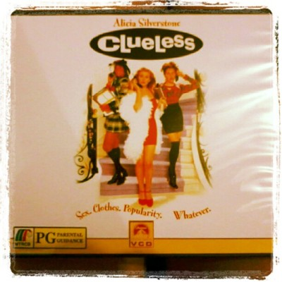 "NW »» Clueless. MV with Him.  :""> (Taken with Instagram)"