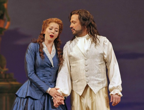 Lisette Oropesa and David Daniels in Xerxes at the SanFrancisco Opera