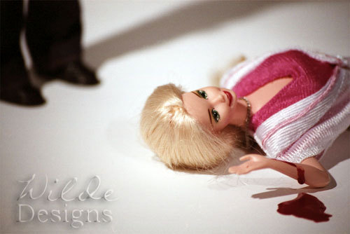 Just added 3 sale prints of my Barbie Murders Suicide? 02 print for just $3