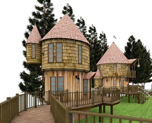 J.K. Rowling Is Building a Hogwarts-Style Treehouse in Her Backyard
