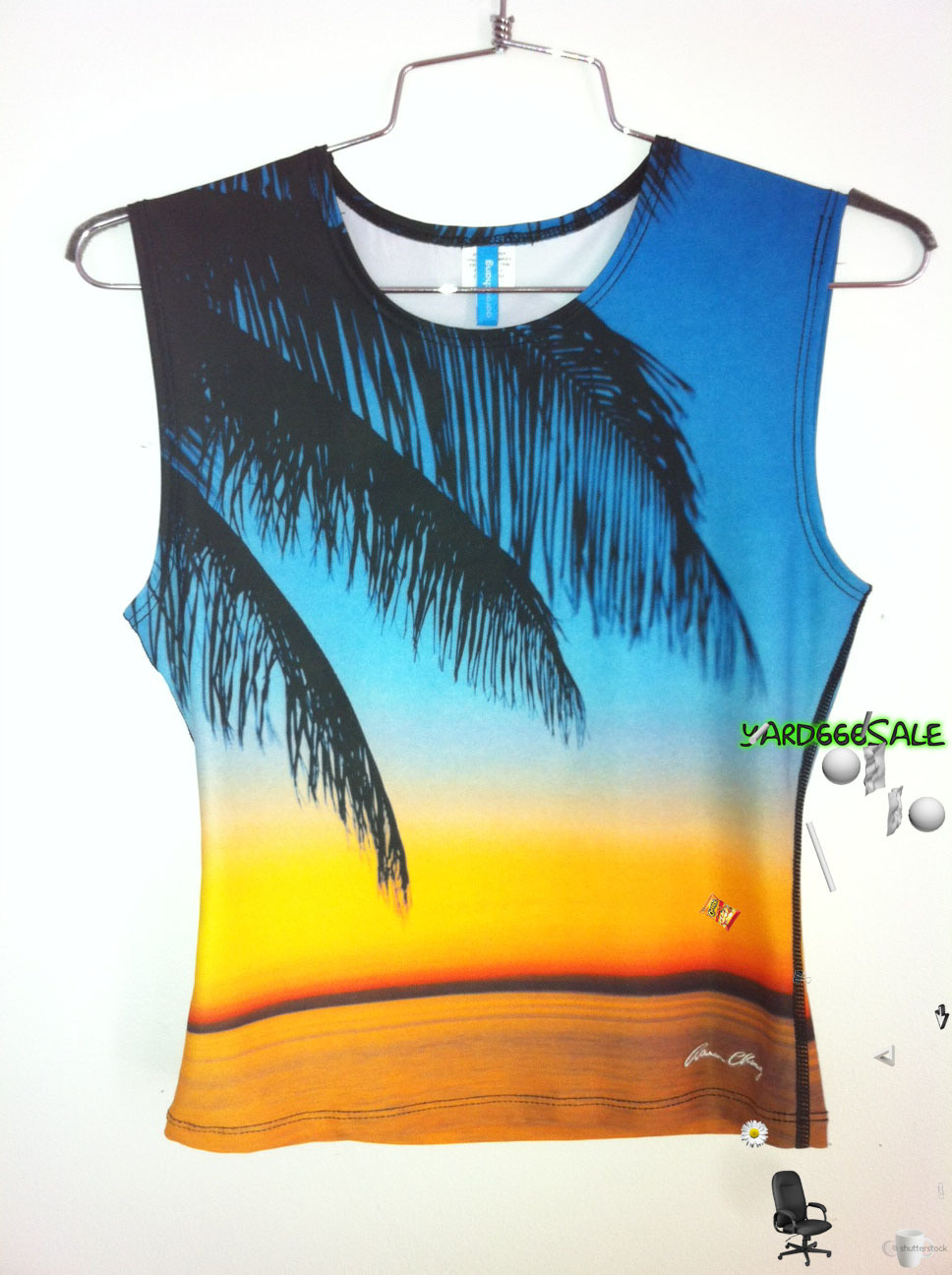TROPICAL SUNSET SEAPUNK TANK http://www.etsy.com/listing/105545226/90s-sunset-seapunk-tank-s
