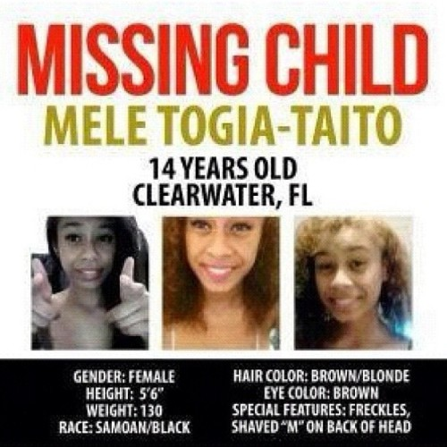 infamousvikas:  homesteadilee:  therealblasian:  Shes been missing since the 8th of this month! REBLOG THIS TO HELP FIND HER!!!!!!!!!!!!!!!!!  Anybody in Florida?  I hope they find her :(