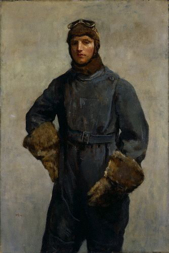 McEvoy, Ambrose (1878-1927) - 1919 Sir John William Alcock (National Portrait Gallery, London) by RasMarley on Flickr.