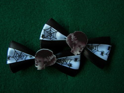 Bride of Frankenstein Hair Clips