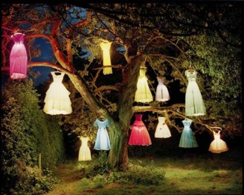 Dress Lamp Tree Photo: Tim Walker