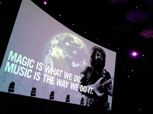 Magic is what we do. Music is the way we do it.