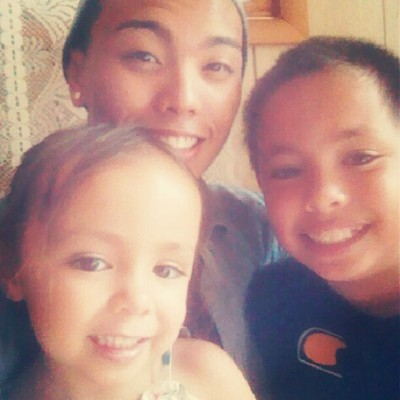 My 3rd cousins. Lol we all have the same smile :) #precious #halfwhite #halffilipino #Californians  (Taken with Instagram)