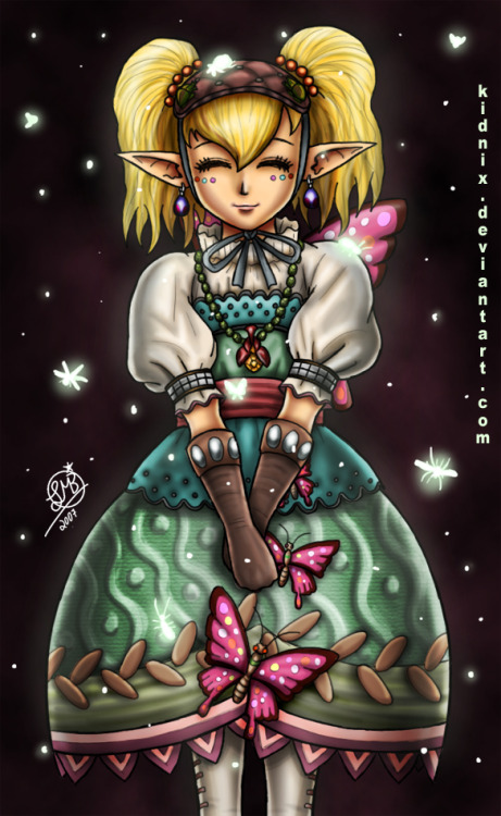 Zelda TP: +Queen of the Bugs+ by =Lukael-Art