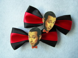Pee Wee Herman Hair Clips!