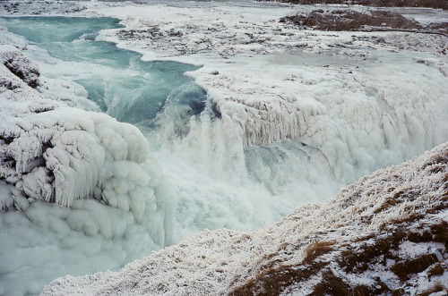deersandowls:  infinite—contradictions:  Gullfoss by Pitseleh Pitseleh on Flickr.