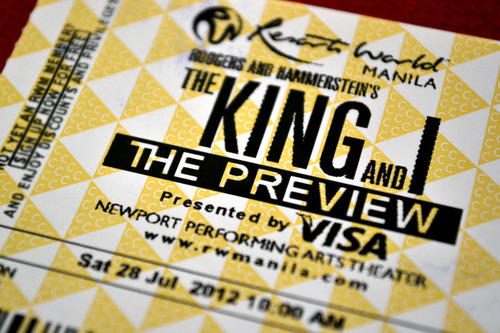 Theater Notes: [ The King and I - The Preview ] I had the opportunity to attend a preview of Resorts World Manila's latest stage production – Rodgers and Hammerstein's well-loved The King and I - this weekend… View Post shared via WordPress.com