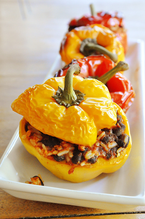 Mexican stuffed peppers.