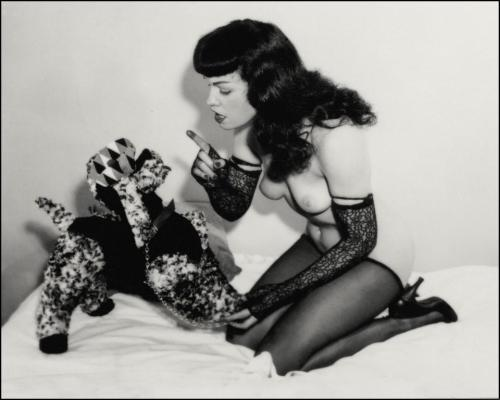 Bettie administers a severe telling-off.