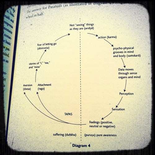 autumn-lily:  #yoga #wheel #cycle #body #mind #philosophy #diagram (Taken with Instagram)