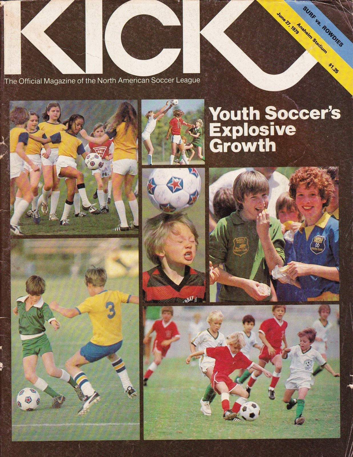 "A 1979 NASL magazine focuses on the explosive growth of youth soccer in America - a movement led by the AYSO, whose ""Americanization"" of the sport is explored by David Keyes in issue one of XI Quarterly."