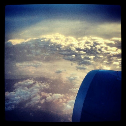 From the plane (Taken with Instagram)