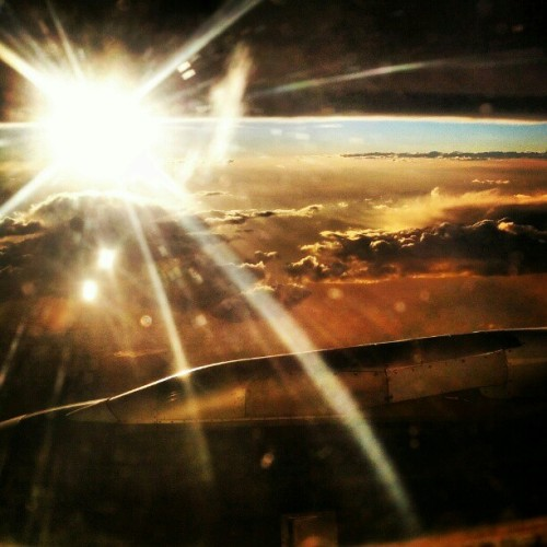 Another from the plane. (Taken with Instagram)