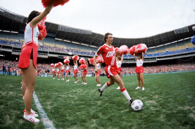 Johan Cruyff runs onto the field for the Washington Diplomats in the NASL. In issue one of XI Quarterly, Pieter van Os and Leander Schaerlaeckens explore how his experiences with the team in 1980 and 1981 changed the Dutch legend forever:   Legendarily hubristic, cocksure, singularly combative and ruthless, Cruyff was forever embroiled in power struggles or embarking on ideological crusades. If his talent for manipulating a ball and orchestrating an offense was immense, it was (and is) dwarfed by his capacity for inciting conflict and playing mind games. But the Dips didn't know any of that yet. In 1980, all they knew was that they'd landed the player considered one of the greatest of all time for his second season in the now-defunct North American Soccer League.
