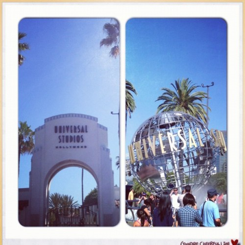 Universal Studios Hollywood (Taken with Instagram at Universal Studios Hollywood Globe)