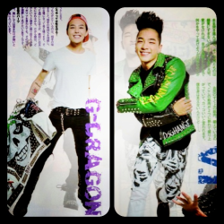 Gdragon and TaeYang for With magazine [Edit]  Source: Kappi573