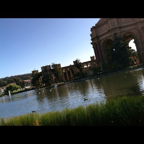 Taken with Instagram at Palace of Fine Arts
