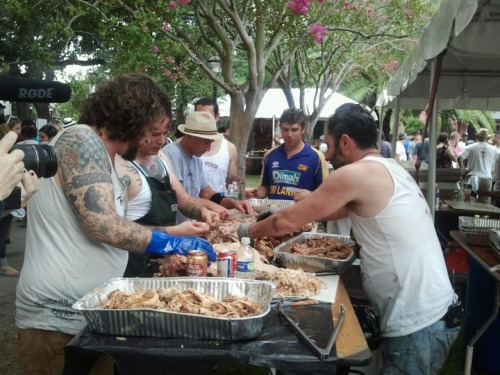 New Orleans pig roast is Joios (according to Carol aka Coco).
