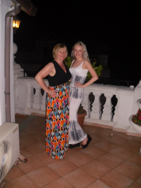 me and my mummy in rome