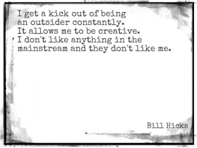 What's is it about bill hicks and his ability to describe exactly how I feel?