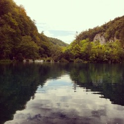 #waterfalls #croatia #plitvika #plitvice #landscape #water #lakes #trees  (Taken with Instagram)