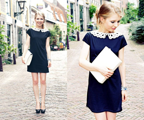 Little black dress (by Rachella K.)