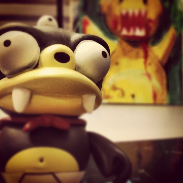 #futurama #toy #toyphotography bubbler (Taken with Instagram)