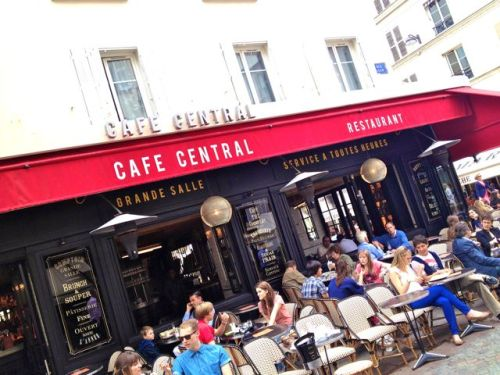 Brussels in Paris: Café Central :-) Looks slightly different here.