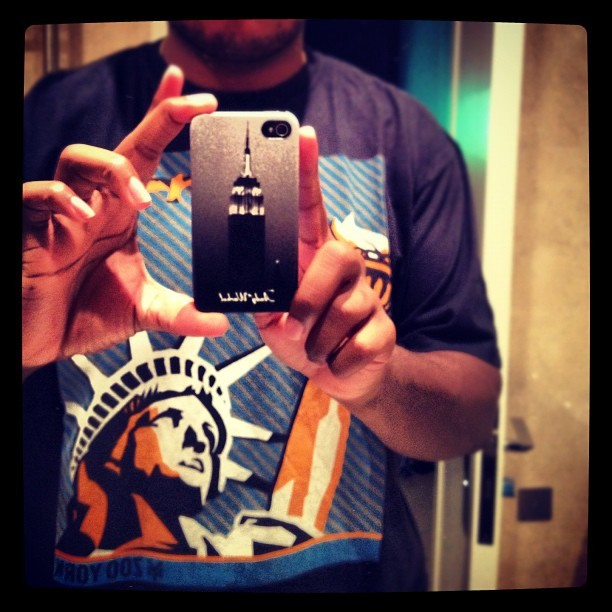 The Tshirt and the iPhone case… the real thing tomorrow! #NewYork! (Taken with Instagram)