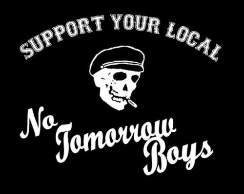 STAND BY YOUR HAM. FOR THE RECORD… we, THE NO TOMORROW BOYS, fully support PORK MAGAZINE and their assault on the uptight honkeys who do their damnedest to tell us what we can and cannot read, enjoy, laugh at, or be interested in. For all of us who have to stomach the rampant political correctness, PORK is a celebration of enjoying what you wanna enjoy without having to get an earful of bullshit. So dig PORK MAGAZINE, freak out the squares, and don't let anyone push you around or tell you who you are supposed to be! -DD THE NO TOMORROW BOYS ARE ONE OF THE BEST BANDS AROUND RIGHT NOW. PERIOD. CHECK THEM OUT.