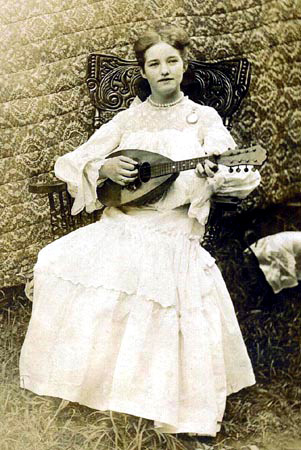 Mandolin Player, Appalachia, 1900
