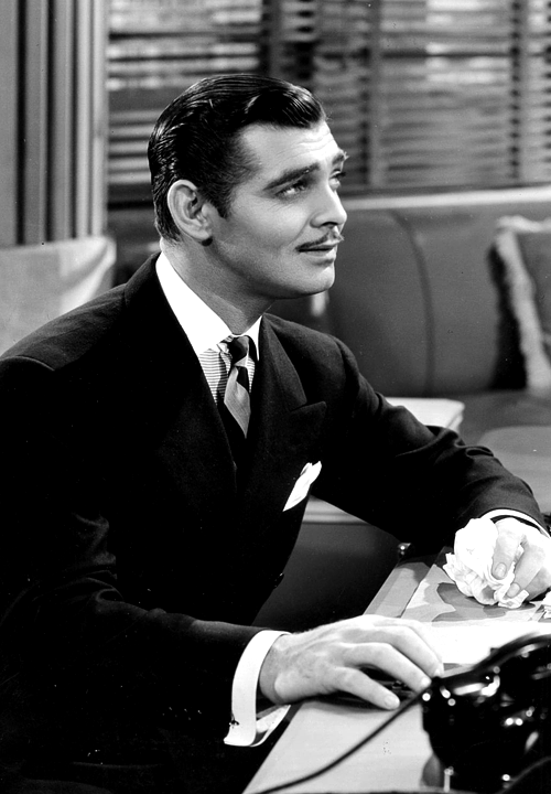 Clark Gable in Wife vs. Secretary, 1936