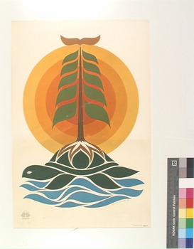 Arnold Jacobs (Onondaga) Creation Print 1976