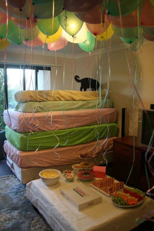 kawaiithulhu:  fucking hell this cat knows how to throw a party