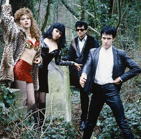 The Cramps; Lux, Ivy, Candy & Nick