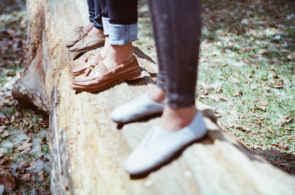 truthe:  Wood/foot (by Renaldy Fernando)