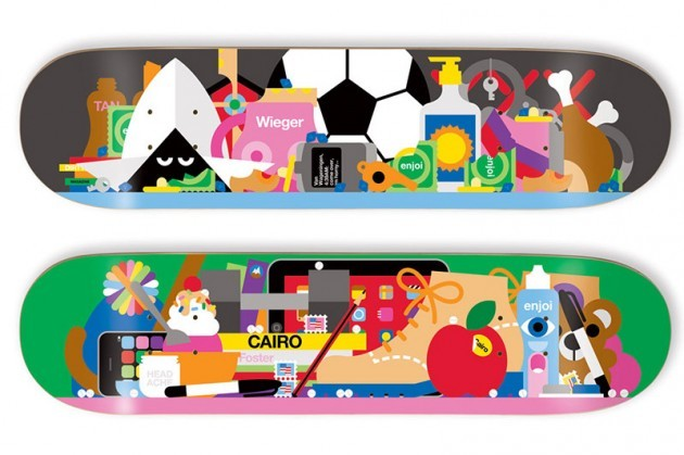 Craig & Karl x Enjoi | Skateboard Decks