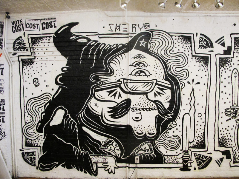 Eat your pizzas or the grim reaper will get you… Sheryo Pandemic Gallery Jul 2012 www.sheryoart.com