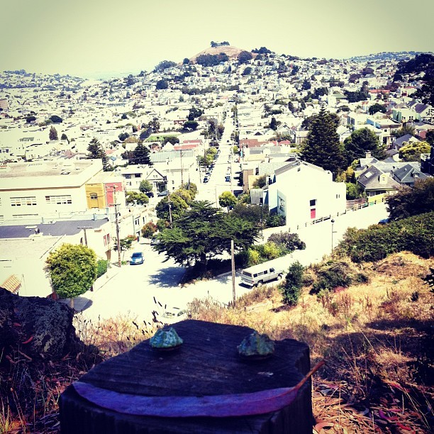 Smile! (Billy Goat Hill Parkにて。Instagramで撮影)