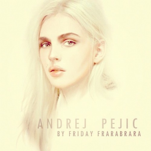 Andrej Pejic by Friday Frarabrara