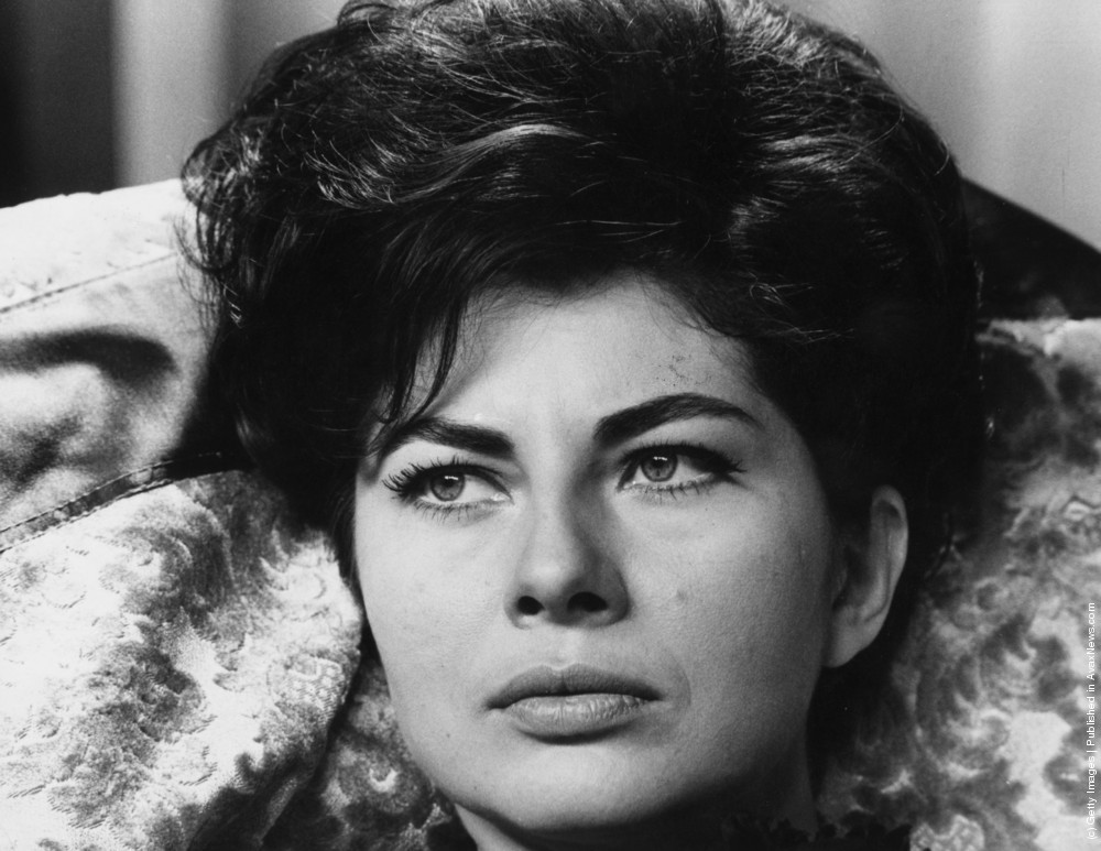 Princess Soraya Esfandiary Bakhtiari (1932–2001), in all her beauty - circa 1950 (Photo by Keystone).