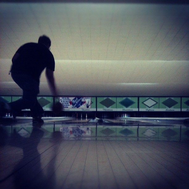 Taken with Instagram at All Star Lanes