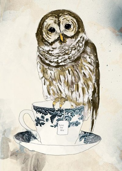 sugarfreemagnolia:  Time for tea by ~tabithaemma