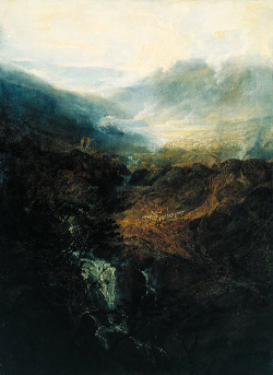 J. M. W. Turner - Morning Amongst The Coniston Falls, Cumberland (1798)