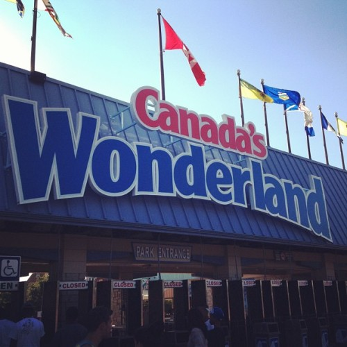 Great Day! (Taken with Instagram at Canada's Wonderland)